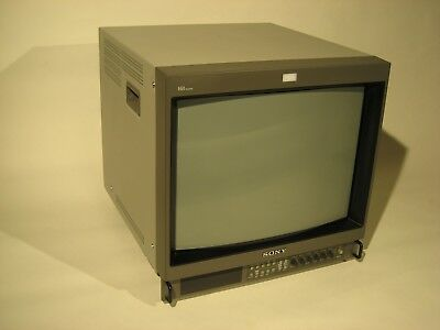 Sony PVM-20M4U Monitor with Hanging Steel Mount - Great for Retro Video Gaming