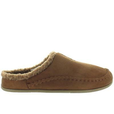 0a61cc1b09d Deer Stags Slipperooz Nordic - Chestnut Microsuede Indoor Outdoor Moc  Slipper