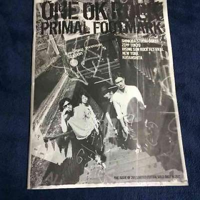 ONE OK ROCK OFFICIAL PHOTO BOOK PRIMAL FOOTMARK 2012  #1 PF Album Collection