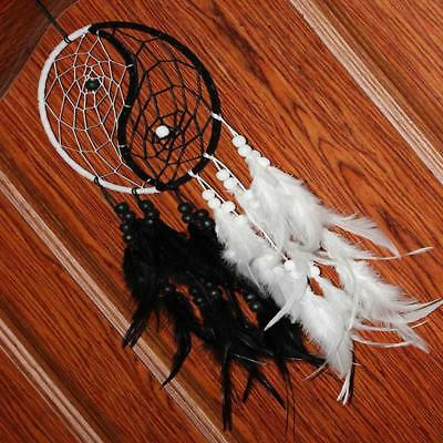 Handmade Dream Catcher Hanging Wall Feathers Ornament Decoration Car Gift Decor