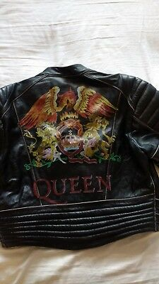 limited edition Queen leather jacket