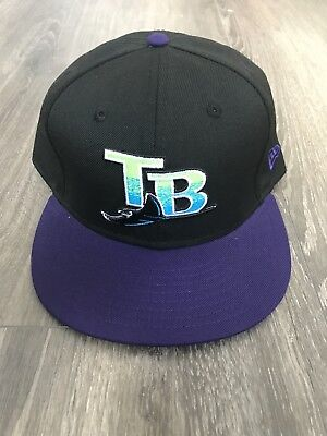 New Era MLB Tampa Bay Devil Rays Fitted Cap Size 8