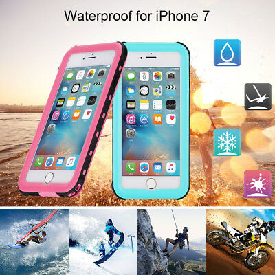 360°Full Waterproof Life Proof Diving Back Case Cover For Apple iPhone 7 7 Plus