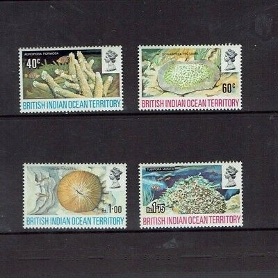 British Indian Ocean Territory: 1972, Corals, MNH set