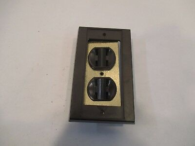 Antique General Electric 8 Prong Wall Outlet W/Cover Plate VERY RARE MUST SEE