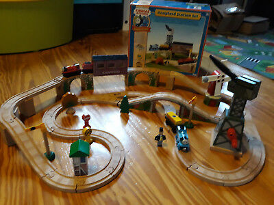 Original Thomas Holzeisenbahn Knapford Station Learning Curve Cranky in OVP