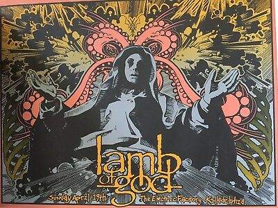 Limited Edition Signed Numbered Lamb of God poster