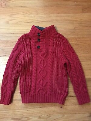 Baby Gap Boys Red Sweater Size 5T NWOT