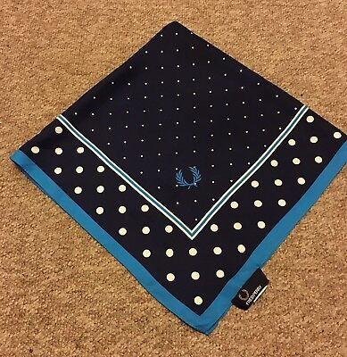Fred Perry Handkerchief Polka Dot blue