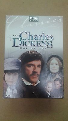 The Charles Dickens Collection, 6 DVD set, BBC Video, Over 30 hours