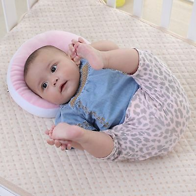 KAKIBLIN Baby Pillow Anti-flat Head Syndrome Ultra Soft Memory Mawata - Pink