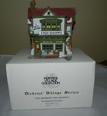 Dept 56 Dickens Village Retired 1987 The Old Curiosity Shop #5905-6 With Box