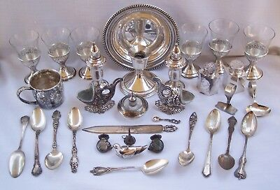 Vintage Sterling Silver Mixed Lot Scrap or Not