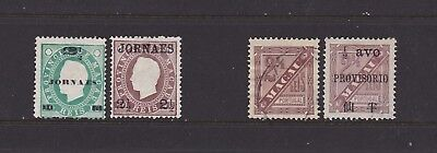 MAC4Macao Newspaper Stamps MM and used see description.