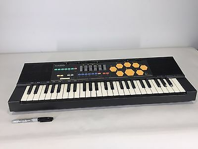 Retro Vtg CASIO MT-520 Electronic Keyboard Piano Synth Drums Instrument Kids 80s