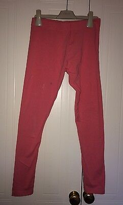 Girls Next Age 12 (11-12 Years) Coral Coloured Leggings