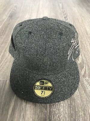 New Era x SSUR Fedora Fitted Cap Size 7 3/4 Grey Woven Wool