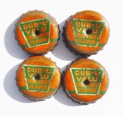 Dub-L-Valu Cork Bottle Caps   Rare!