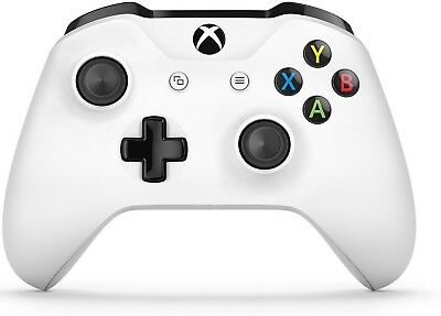 New Sealed Official Xbox One White Wireless Bluetooth Percision Game Controller