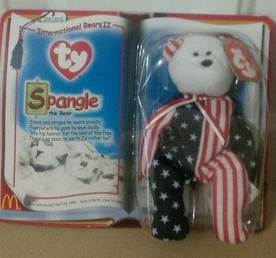 Ty beanie babies, Spangle, New in Package !!