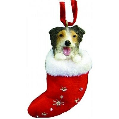 Australian Shepherd Santa's Little Pals Dog Christmas Ornament