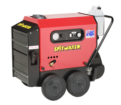 Spitwater 10-120H Hot/Cold Water Pressure Cleaner 1800psi