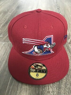 New Era CFL Montreal Alouettes Fitted Cap Size 8