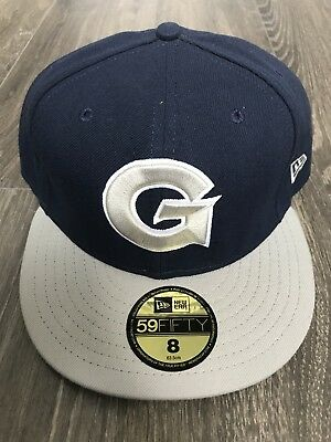 New Era NCAA Georgetown Hoyas Fitted Cap Size 8