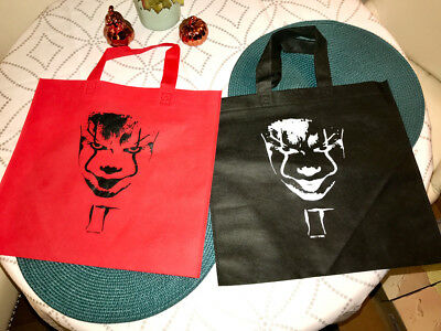 Stephen King IT Movie Pennywise Limited Edition Canvas Bag Two-Pack Regal AMC