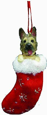 German Shepherd Santa's Little Pals Dog Christmas Ornament