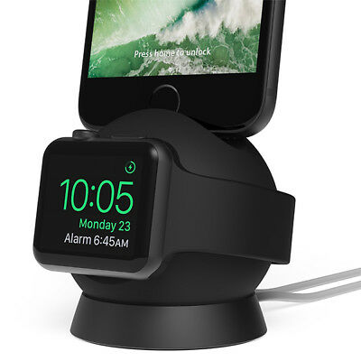 iOttie OmniBolt Apple Watch Stand, iPhone Docking Station for Apple Watch Series
