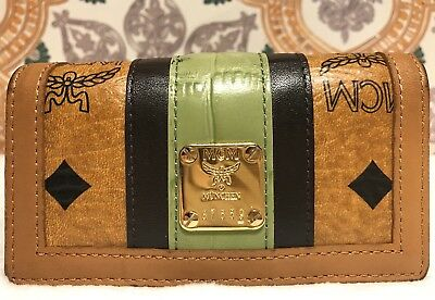 VINTAGE MCM Leather Key Wallet Munchen Germany