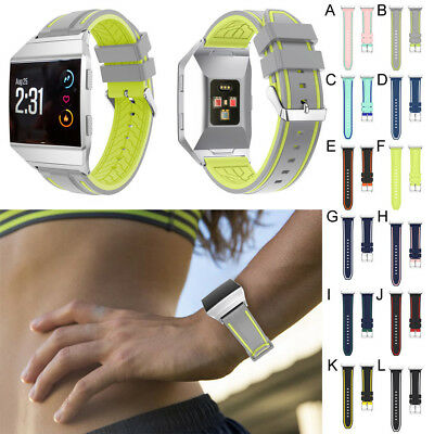 Soft Sports Soft Silicone Replacement Band Strap For Fitbit Ionic Watch