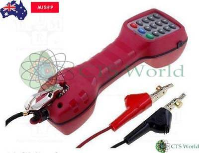 Tandem Lineman Test Set Telephone Red Colour Butt Phone New