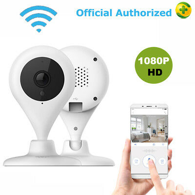 2-Pack Wireless Smart Camera Home Security Surveillance Video System Detector