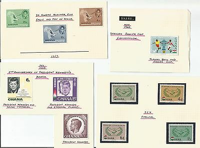 Ghana   1957 Independence  1965 African Soccer Cup JFK Kennedy Co-operation   MM