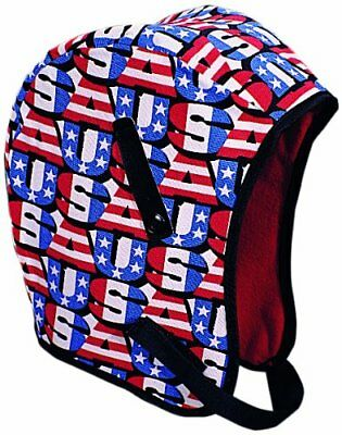 Mutual WL3 210 Kromer Hard Hat Winter Liner with USA Regular Nape Red White Blue