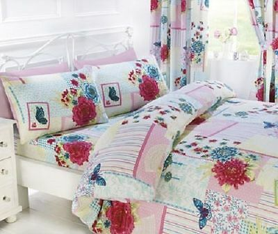 rapport multi floral collage patchwork room in a bag 6 piece single bedding set