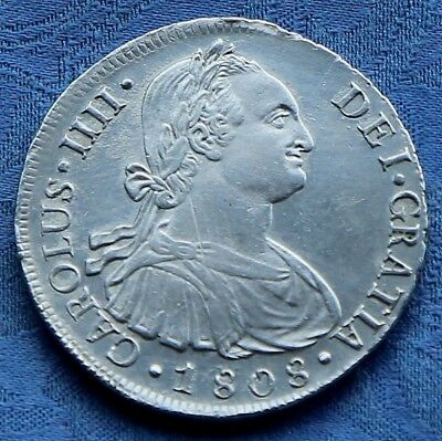 8 Reales 1808 from Peru