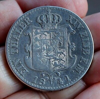 1 German Thaler from Hannover 1841