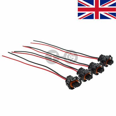4pcs Diesel Injector Plug Connector for Vauxhall Vivaro Corsa Combo Vectra Astra