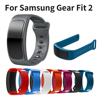 Silicone Smart Watchband Replacement Strap For Samsung Gear Fit 2 SM-R360