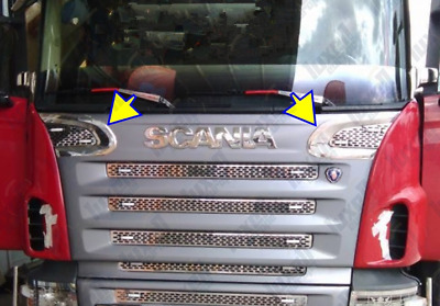 Scania R Series 2003-2008 Chrome Grill Air Flow Trim STAINLESS STEEL