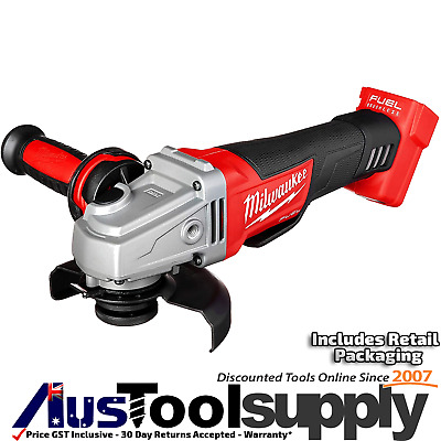"Milwaukee Fuel M18 18V Cordless Angle Grinder 5"" 125Mm  M18Cag125Xpd-0 2780-20"