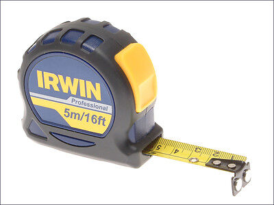IRWIN 10508062 Professional Pocket Tape 5m/16ft (Width 19mm) Loose *CLEARANCE*