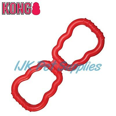 Kong Dog Rubber Red Interactive Tug Tugger Toy
