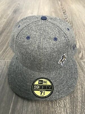 New Era NHL Florida Panthers Fitted Cap Size 7 3/4 Low Profile flawless logo