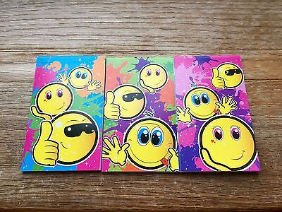 6, 12, 24, 48 Mini Smiley Face Notebooks Girls Party Note Pad Loot Bag Fillers