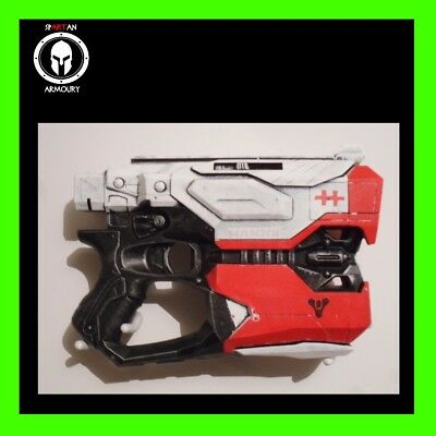 Destiny Hakke Inspired Custom Painted Nerf Hand Cannon Cosplay LARP