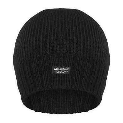 894c5180dba77 Mens Winter Beanie Hat Fleece Lined Thinsulate Thermal Insulation Free P P